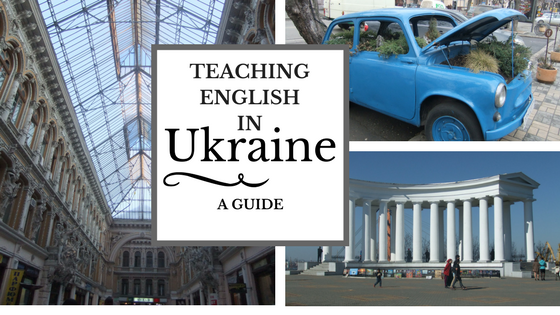 Teaching English in Ukraine