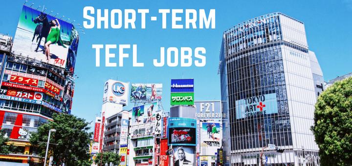 Short-term TEFL jobs 2