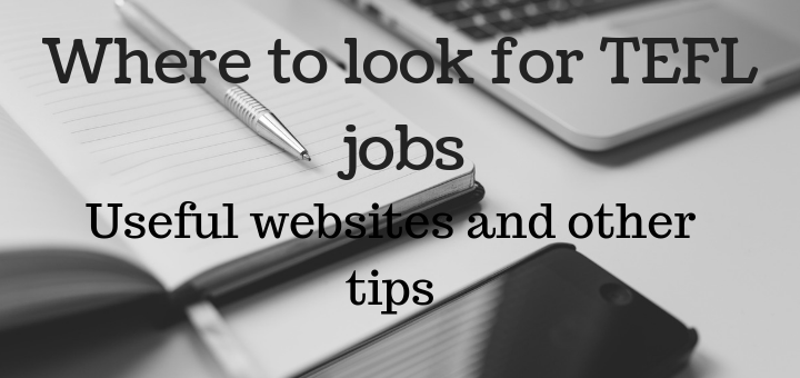 Where to look for TEFL jobs