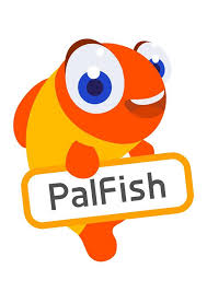 palfish logo, a company where you can teach English online without a degree