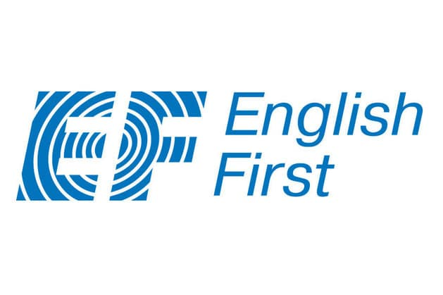 EF logo, one of the online English teaching platforms who accept you to teach English online with no experience